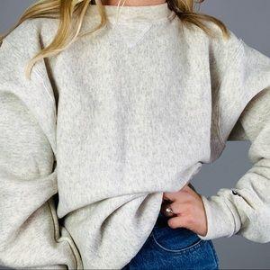 Vintage BIKE Heathered Grey Crewneck Sweatshirt M